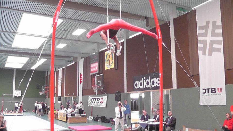 Turner nach Kreuzbandplastik und Schulteroperation erfolgreich beim Deutschlandpokal