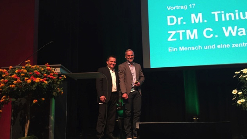 Vortrag Dr. med. Marco Tinius und Christian Wagner