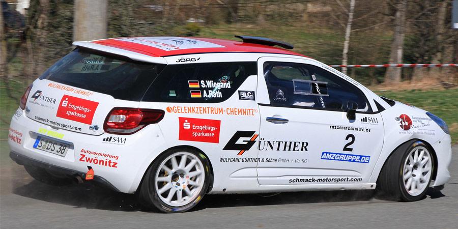 Rallye Europameister - Sepp Wiegand